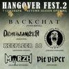 Hangover Fest-2 (Autumn Season Opening) 07.09