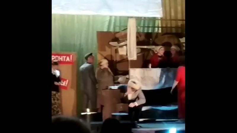 Премьера спектакля Эшелон в ЯЦК и Д. 7.05.2018 года.