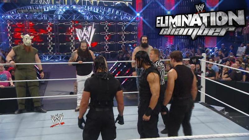 Клетка Уничтожения 2014 (Запись Стрима WWE Looks)