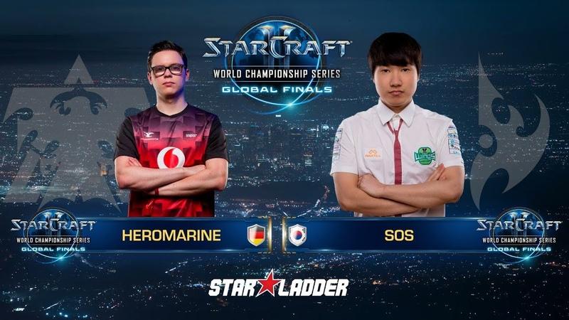 2018 WCS Global Finals Ro16, Group B, Losers Match: HeRoMaRinE (T) vs sOs (P)