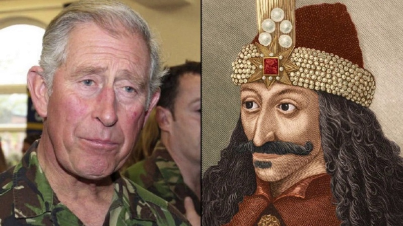 Prince Charles Descendant Of Vlad the Impaler and Many Others
