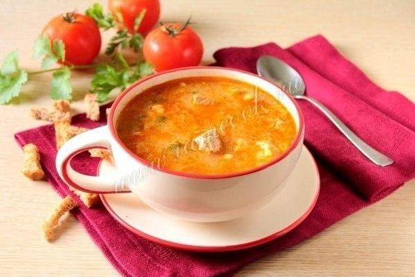 Суп «Харчо» в мультиварке Ингредиенты: Свинина или говядина -