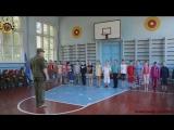 Молодая Гвардия Донбасса провела открытое занятие для детей пришкольного лагеря ОШ 62, при содействии Отдела военного комиссариа