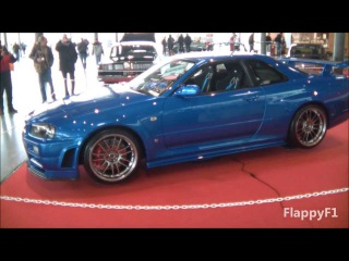 Paul Walkers Nissan Skyline GT-R R34 - Fast Furious 4 - On Display!