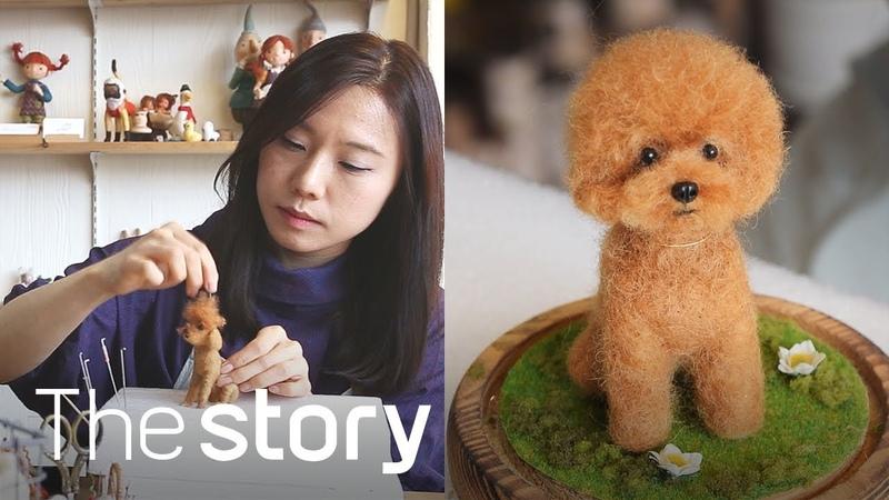 콕콕콕! 양털에 바늘을 찔러 만든 포근한 인형! : 양모인형 제작, 이민종 (ENG/KOR/JPN sub