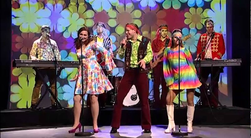 60s Tribute Band 60s Explosion- Available from alivenetwork.com