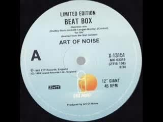 Art Of Noise - Beat Box 912 Inch. Extended Version And Edit.) By Island Records And ZIT Records Inc. Ltd. Video Edit.
