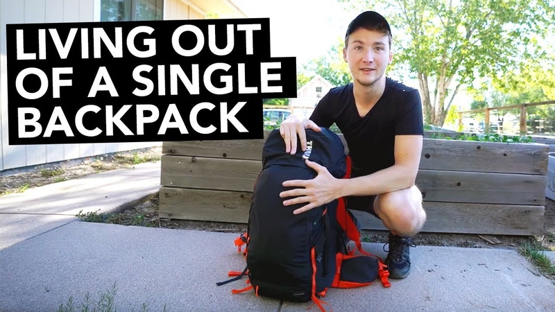 Minimalist Nomad Filmmaker - Living out of a Single Backpack