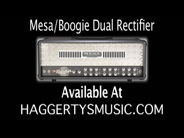 Mesa/Boogie Dual Rectifier 6L6 vs EL34 Tube Comparison