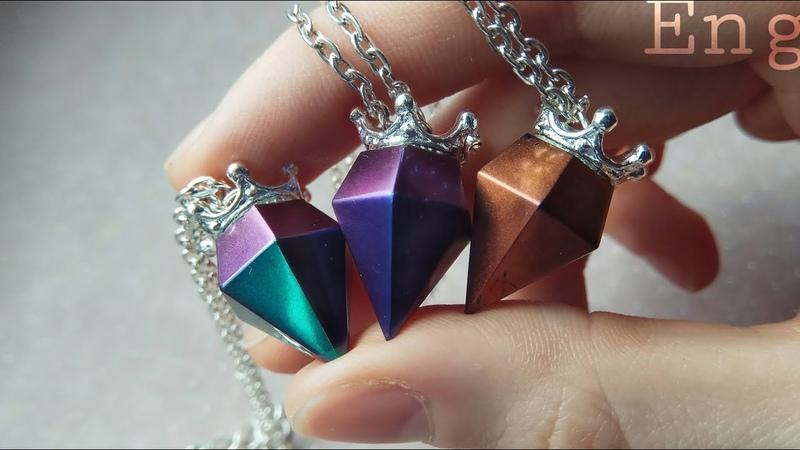 Crystals | Epoxy Pendant
