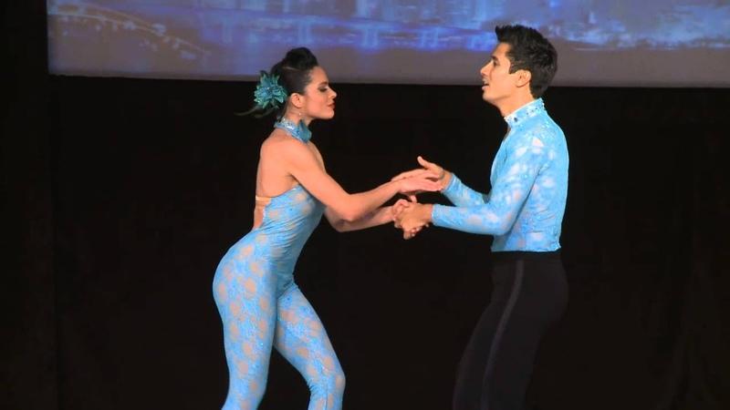 Rodrigo Guzman Nayara Nunez World Latin Dance Cup 2012 Salsa Cabaret Couple SemiF