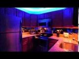 Освещение на кухне. Светодиодные светильники для кухни.