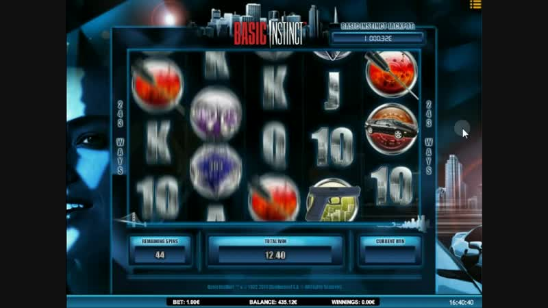 Basic Instinct video slot Real Money Game Session 005