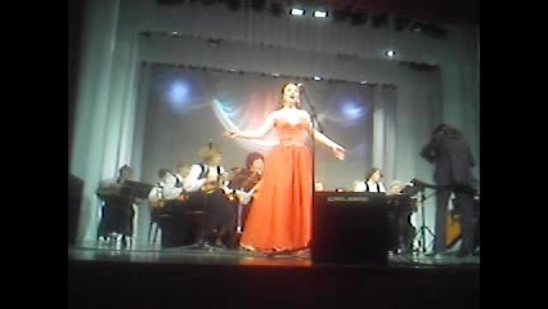Анастасия Лепешинская в Томске 2010