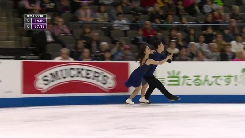 Maia SHIBUTANI Alex SHIBUTANI USA Free Dance Skate America 2016 HD