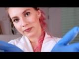 АСМР Школьный ДОКТОР - твой самый приятный Стоматологический осмотр 🛠 ASMR DOCTOR - MEDICAL EXAM