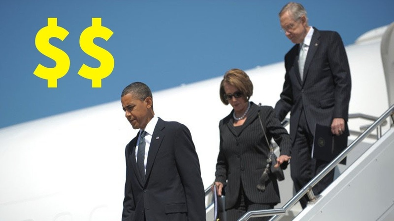 Nancy Won't Pay For Wall Spent Absurd Amount Of Taxpayer $$ On Personal Flights