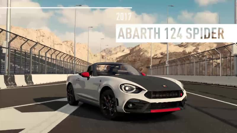 Forza Motorsport 7 Abarth 124 spider