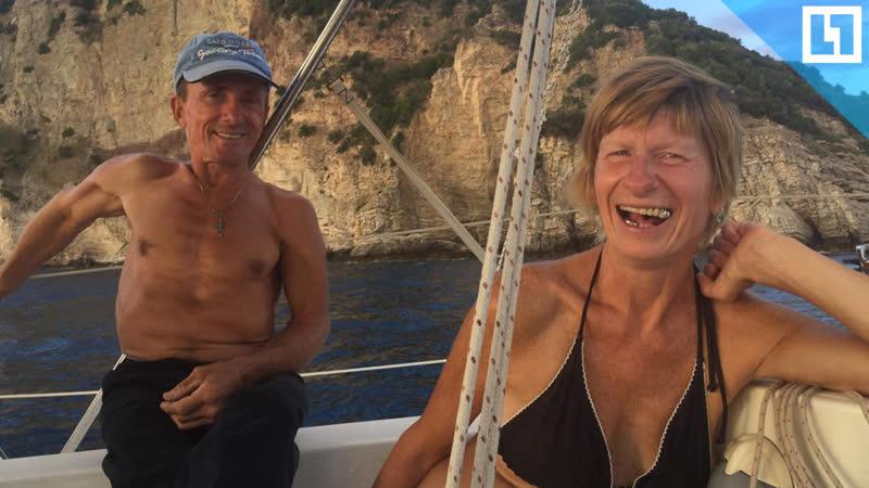 Уплыли на яхте в рай