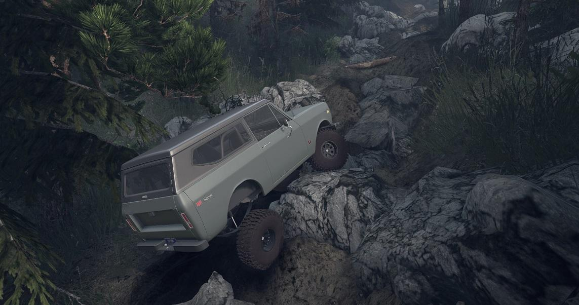 SID 1977 International Scout II 1.0 для Spintires - Скриншот 3