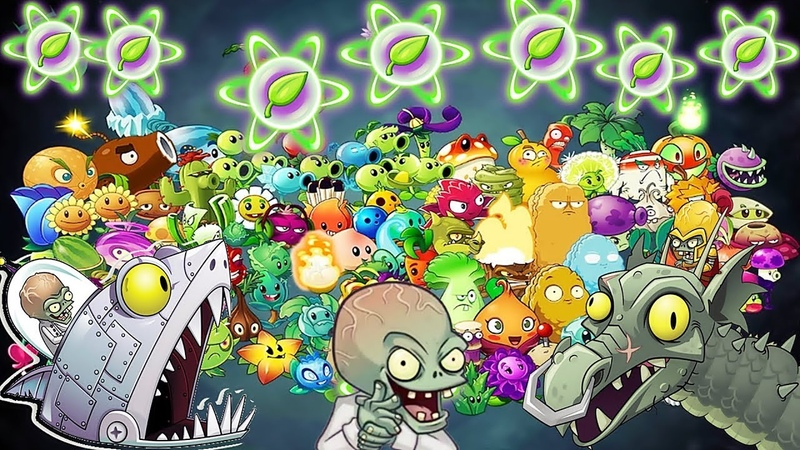 All Plants Pvz 2 Leve 1 Power-up Vs All Freakin' Zomboss in Plants vs Zombies 2
