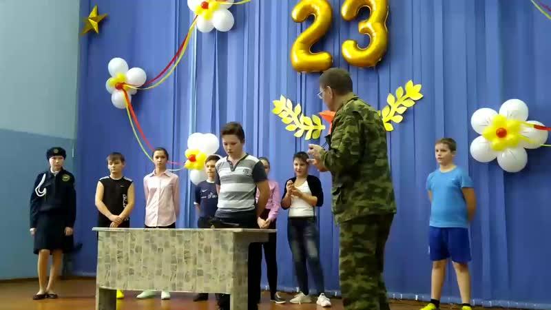 Евдокимов Кирилл разборка и сборка автомата