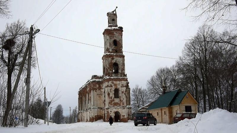 У руин древнего Онуфриевского монастыря в белорусской глубинке вырос храм