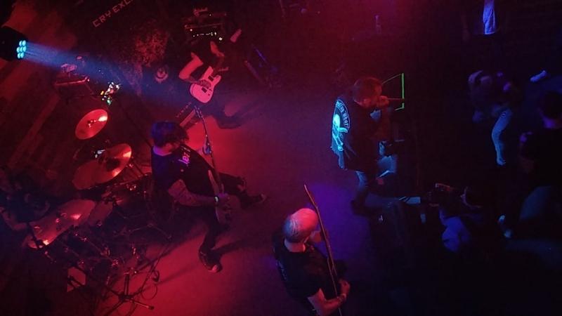 CRY EXCESS - live concert video (1) / Nizhny Novgorod/02.10.18 «Цвет настроения синий» video by ICED@NTE