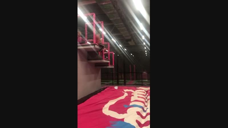 Драйвики в pro jump (прыжок Дашка), 21.11.18