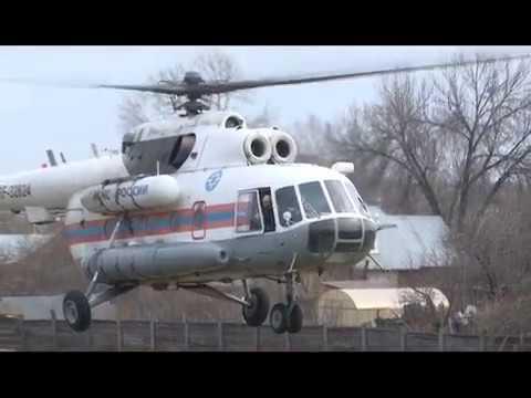 Авиамониторинг паводковой обстановки