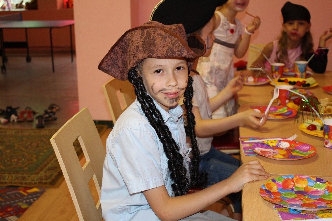День рождение ребенка пиратская вечеринка Запорожье