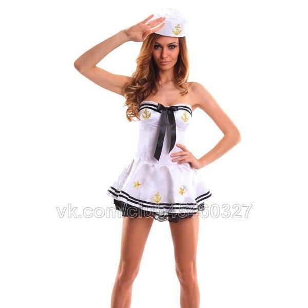 Сексуальный костюм морячки