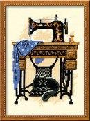 """В наборе для вышивания  """"Швейная машинка """" есть все необходимое...  Рукоделие Вышивка РИОЛИС Вышивание крестом Жанровые..."""