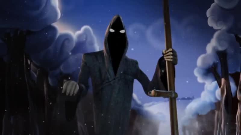Джи - невезучая Смерть_ Цыган и Смерть (Смешной мультфильм про смерть - Dji.Gyps