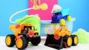 Tractores infantiles van al baño Coches de juguete para niños