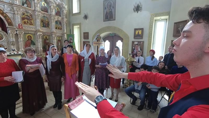 Всего-то навсего - Муз. мон. Иулиания. Поет сводный хор прихожан и певчих храма князя Владимира.
