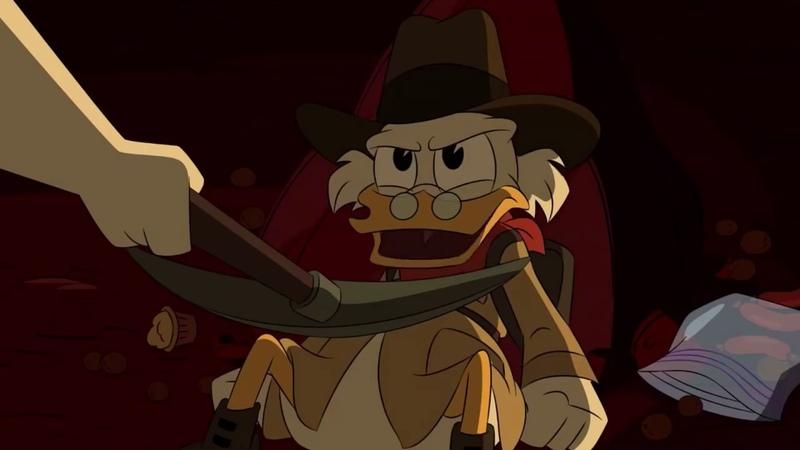 Scrooge vs Goldie