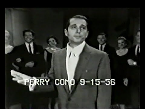 Perry Como Live - Que Sera, Sera (Whatever Will Be, Will Be)