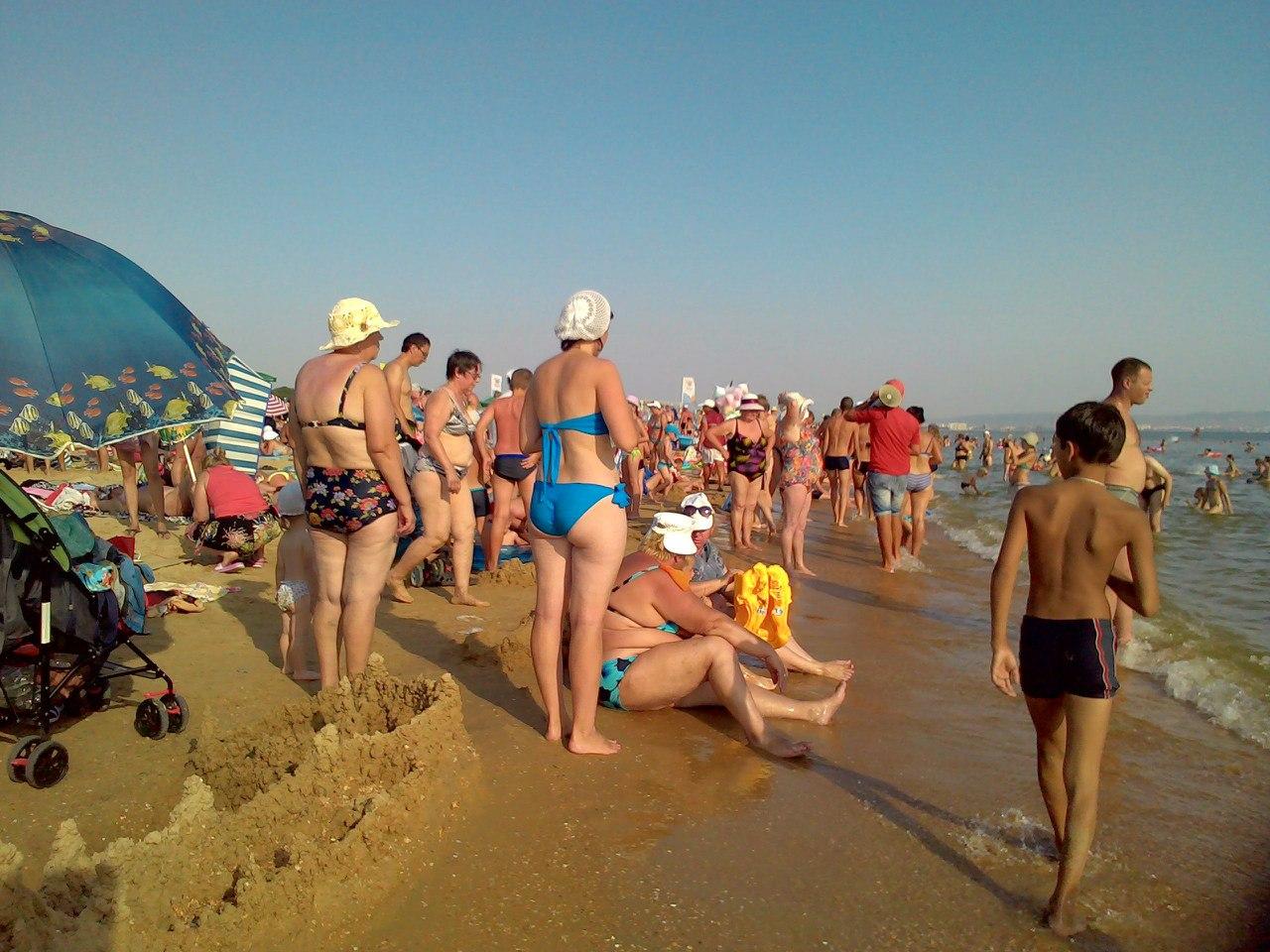 Пляжи в витязево отзывы отдыхающих 2018 фото