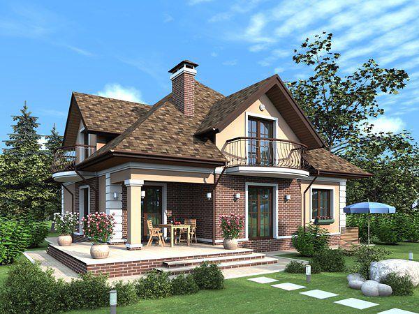 Красивые загородные дома фото