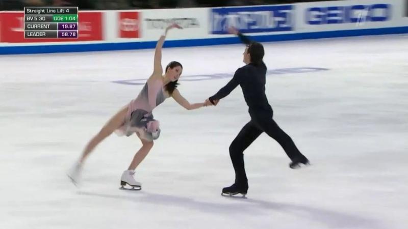 Skate America 2018. Ice Dance - FD. Lorraine MCNAMARA Quinn CARPENTER