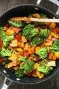 Овощное рагу с тофу