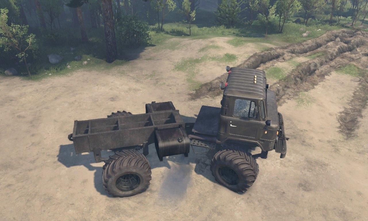 """ГАЗ-66 """"М"""" для 23.10.2015 и 08.11.2015 для Spintires - Скриншот 2"""