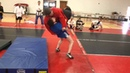 Sambo Single Leg Suplex Rear Throw