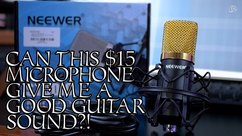 JOHN BROWNE   GETTING A GUITAR SOUND WITH THE CHEAPEST MICROPHONE ON AMAZON