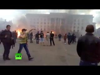 Невыносимая жестокость- в интернете нашлись те, кто радуется сожжению людей в Одессе