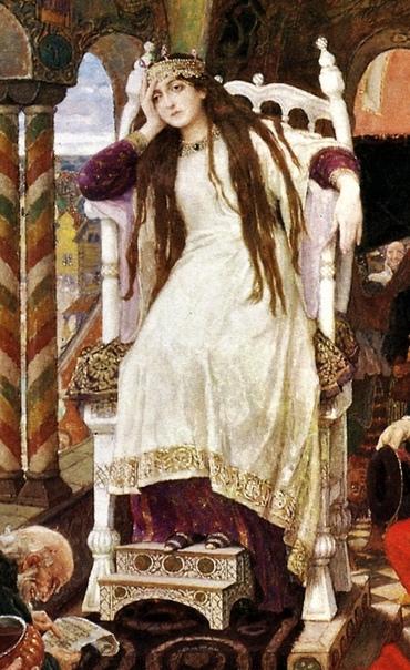 В.М. Васнецов, Царевна Несмеяна, 1914 -1926 «Царевна Несмеяна» наша личная Мона Лиза, только без «фирменной» загадочной улыбки. Великое произведение великого мастера, оставляющее тем больше