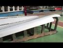 Электровоз Синкансэн. Изготовление кабины из алюминия
