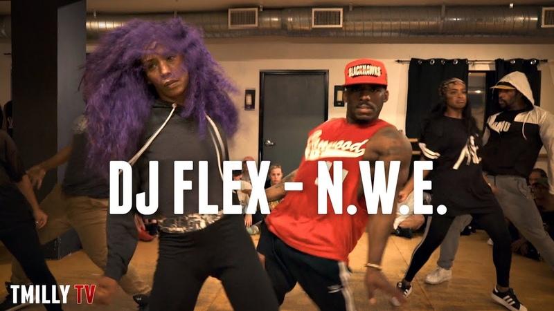 DJ Flex N W E Choreography by Sayquon Keys and Amari Marshall TMillyTV