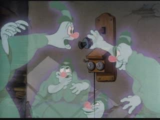Микки Маус, Дональд Дак, Гуфи - Одинокие привидения (25.12.1937) HD1080 (Lonesome Ghosts)